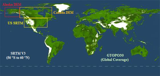 Wetlands Global DEM Data Specifications - Dem global
